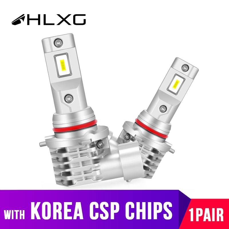 Con Corea CSP Mini h7 lámparas LED para coches motocicleta H4 led H8 H11 luz antiniebla HB3 9005 9006 HB4 6000K luces led para auto HLXG