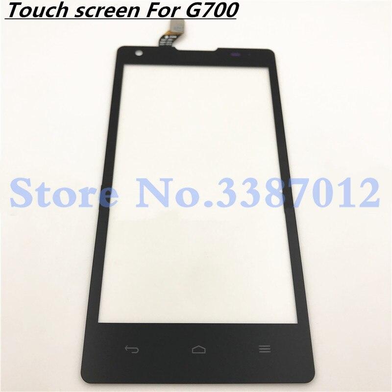 5,0 reemplazo de alta calidad para Huawei Ascend G700 pantalla táctil digitalizador Sensor Panel de lente de vidrio exterior