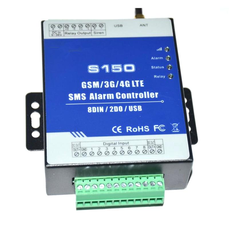 LPSECURITY GSM 3G 4G RTU SMS إنذار تحكم الصناعية قام المحفل RTU نظام مراقبة في المدمج حراسة S150