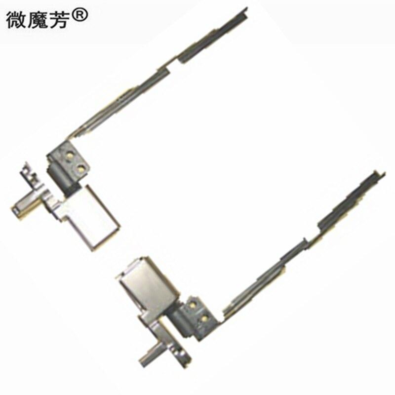 Repuestos de portátiles bisagras LCD para Lenovo para ThinkPad T410 T410i Kit de bisagra LCD izquierda y derecha 60Y5466