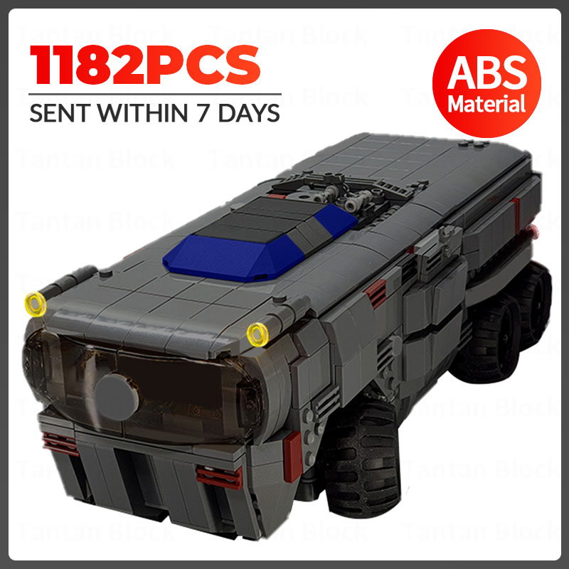 MOC Space Series Wars Remote Controlled Transport Vehicles Model Building Blocks Electric Racing RC Car Bricks Kids Toys Gifts lepin 05079 star boys toys the moc zenith old republic escort cruiser set wars building blocks bricks kids toys birthday gifts