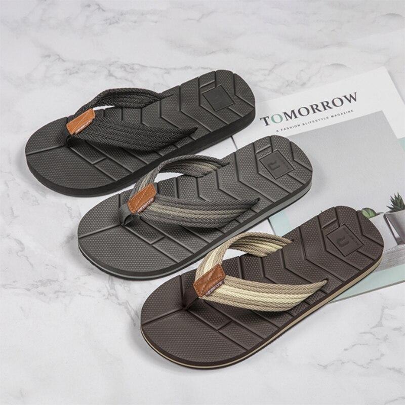 Шлепанцы мужские сетчатые пляжные, Нескользящие, сланцы, тапочки для улицы, удобные, летние тапочки, большие размеры 40-50 | Обувь | АлиЭкспресс