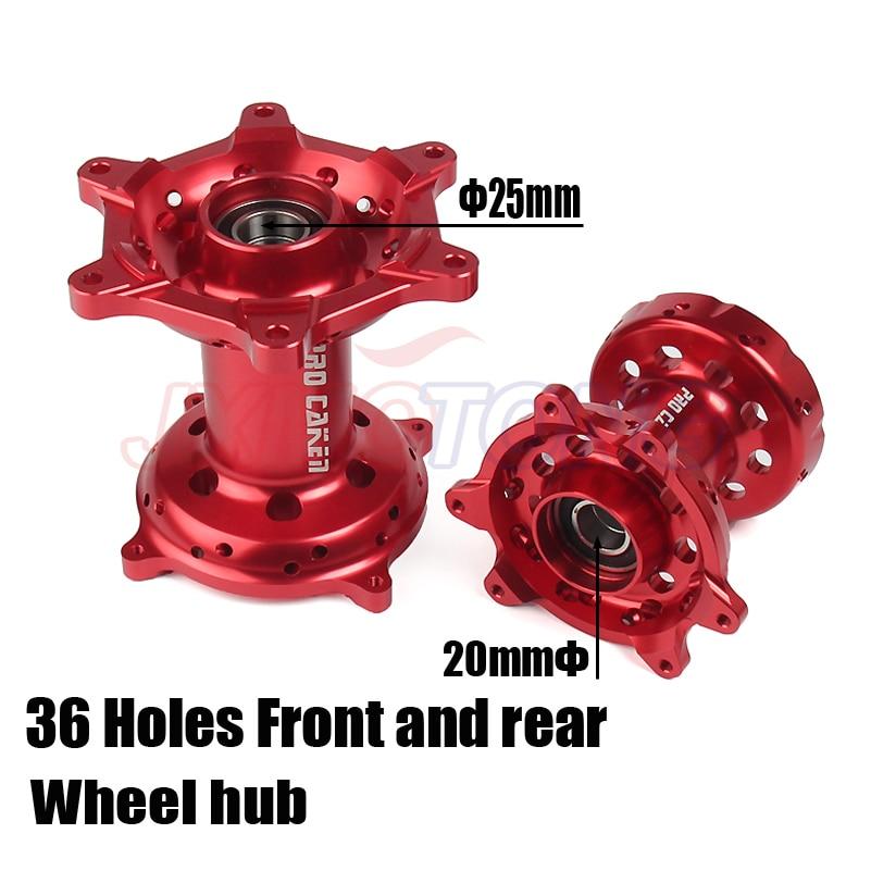 Мотоцикл с ЧПУ Обработанные передние и задние колеса ступицы для HONDA CR 125 250 CRF250R CRF450R CRF450X CRF250X CRF 250 450 R X 00 01-14