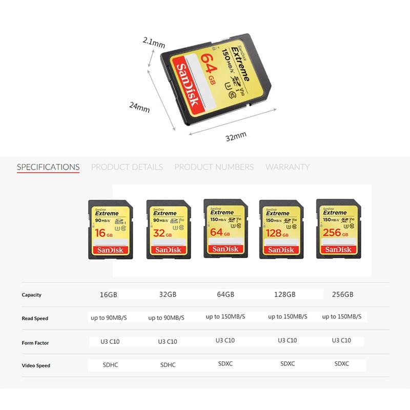 Sandisk 128GB  256GB Extreme A2 V30 Micro SD Card High Speed Microsd 32GB 64GB 512GB 1TB Memoria Micro SD Flash Memory Card C10 enlarge