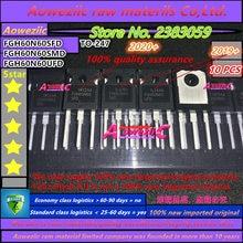 Aoweziic 2020 + 10 Stuks 100% Nieuwe Geïmporteerde Originele 60N60 FGH60N60 FGH60N60SFD FGH60N60SMD FGH60N60UFD Om-247 Igbt Buis 60A 600V