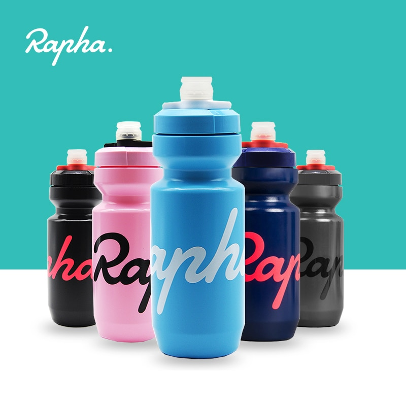 Rapha Cycling Water Bottle 620/750ml Leak-proof Squeezable  Taste-free BPA-free Plastic Camping Hiki