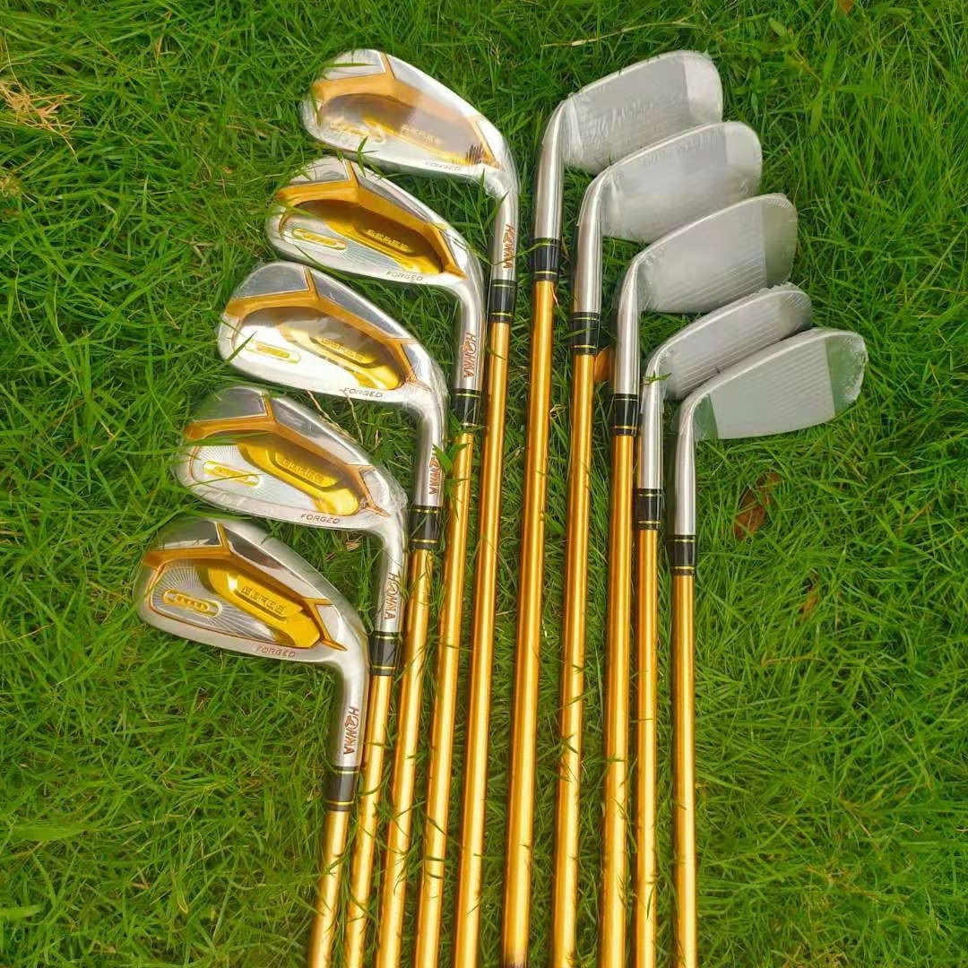 New HONMA2020 golf irons, HONMA BERES S-07 4 planet club set 4-11 A.S / 10Pcs graphite shaft R or S, with free headgear