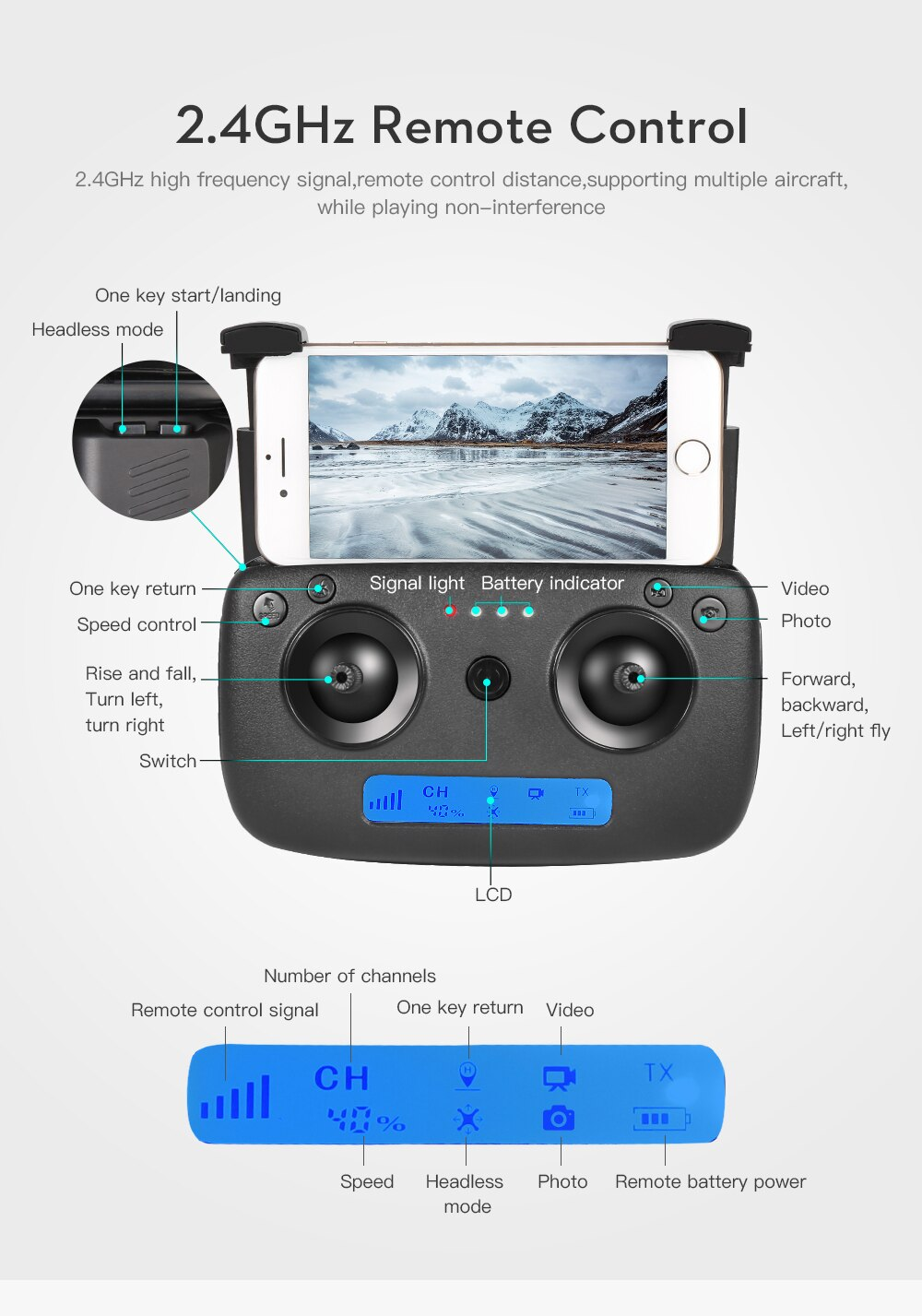 SG901 RC Mini Drone 4K HD Dual Camera  FPV Professional Aerial Photography Helicopter Foldable Quadcopter Drone Toys New enlarge