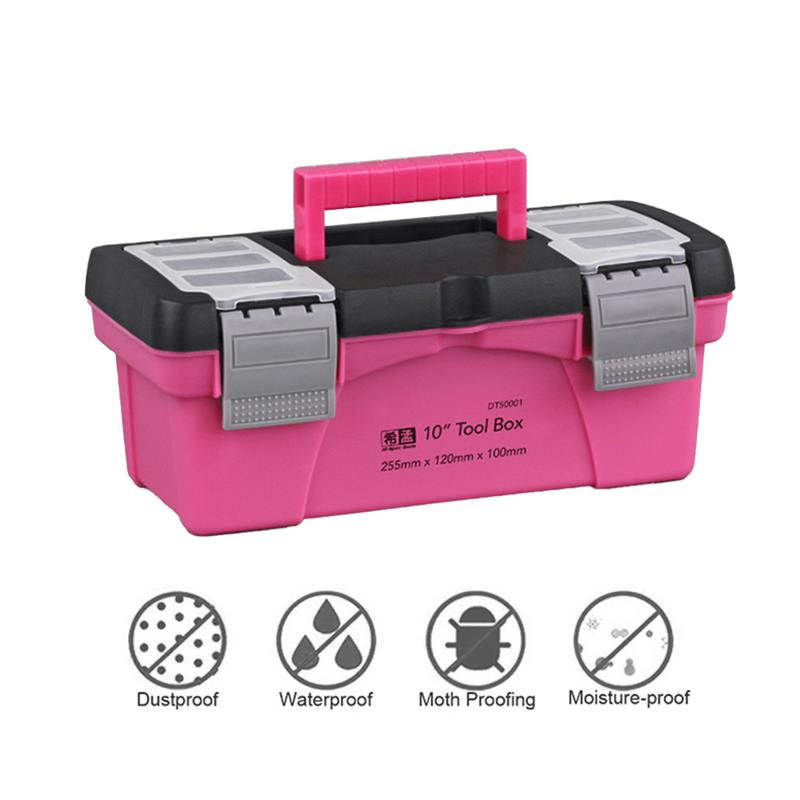 new 12 bins storage cabinet tool box chest case plastic organizer toolbox bin Tool Box Portable Plastic Storage Hard Case Electrician Toolbox Components Daily Necessities Tool Organizer Suitcase Household