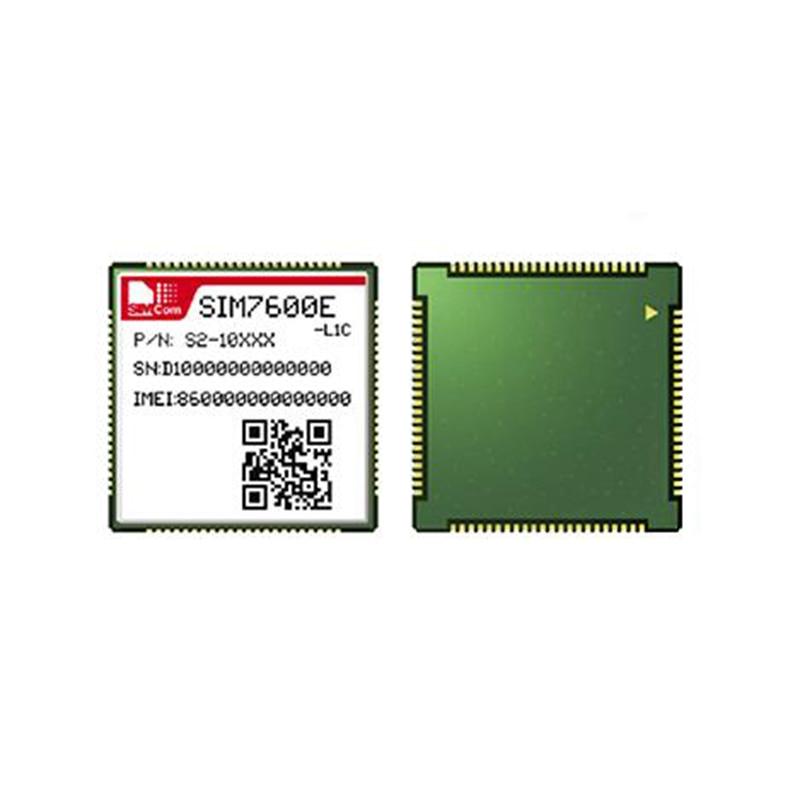 SIMCOM SIM7600E SIM7600E-L1C LTE CAT1 para LTE-FDD B1/B3/B7/B8/B20 UMTS HSPA + B1/B8 GSM GPRS EDGE GNSS GPS GLONASS BeiDou
