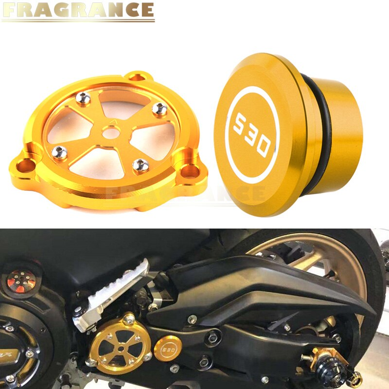 Motorcycle modified frame hole cover front drive shaft protection cover for YAMAHA TMAX 530 DX SX 20