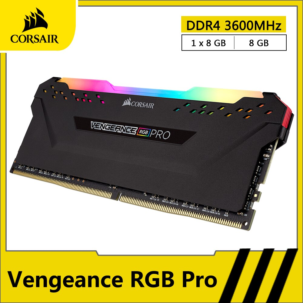 CORSAIR RGB PRO RAM DDR4 8GB 16GB 3600MHz pamięć stacjonarna komputer stancjonarny pulpit pamięć RAM DDR4 288 Pin moduł DIMM