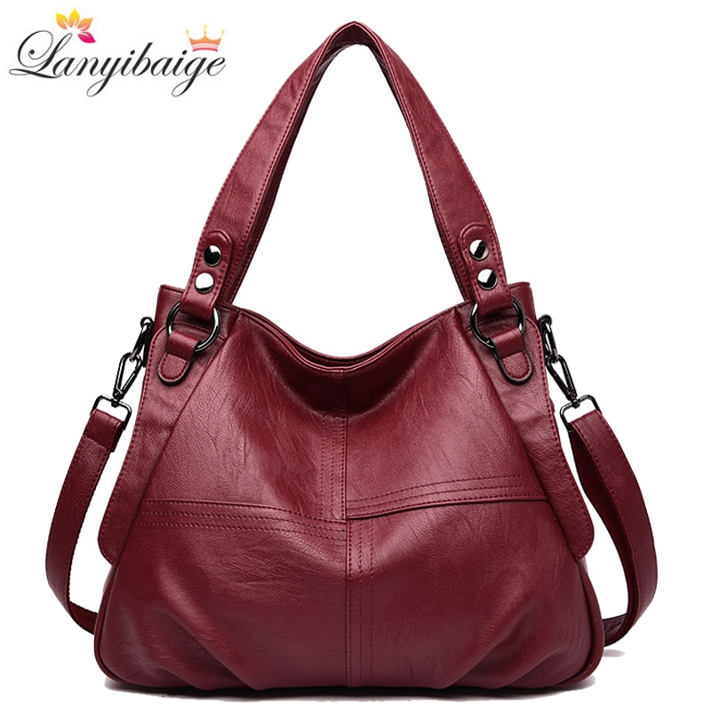 High Quality Leather Handbag Casual Crossbody Bags for Women 2020 Ladies Luxury Designer Tote Bag High Capacity Shoulder Bag Sac