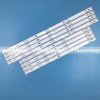 5set/40pcs LED Strips 55S405LEAA 55S405TKAA for TCL 4C-LB5504-HR 4C-LB5505-HR TOT_55D2900_4X4_4X5_3030C YHF-4C-LB5505-YH01J 5504