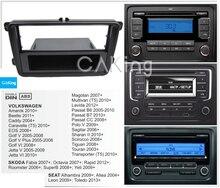 لوحة راديو Din/مزدوجة Din لوحة راديو لـ VW Polo ساجيتار شاران شيروكو تيجوان توران الناقل داش تركيب عدة Facia