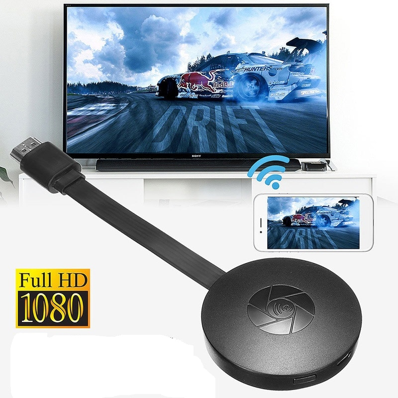 HDMI ключ беспроводной Wifi ТВ адаптер Miracast для Youtube Google Chromecast TV Turner TV Stick экран литой зеркальный ящик