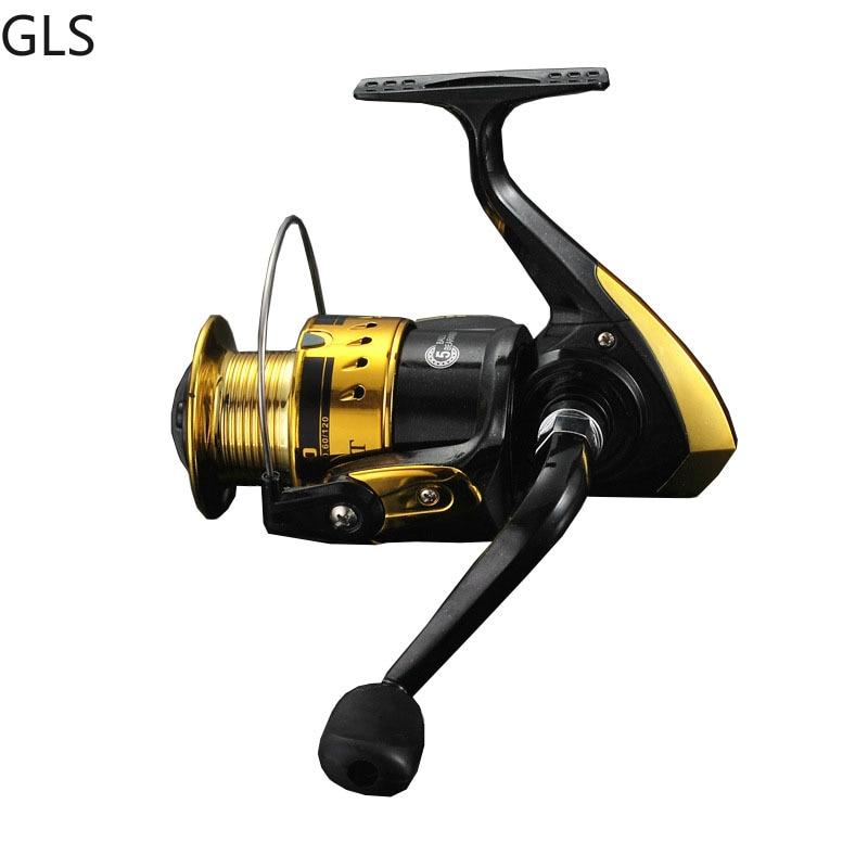 Fishing Wheel 1000-6000 Series 5.11 speed reatio spinning fishing reel interchanged left/right Folding Rocker hand wheel