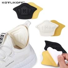2PCS Men Women Insoles for Sport Running Shoes Adjust Size Heel Liner Grips Protector Sticker Pain R