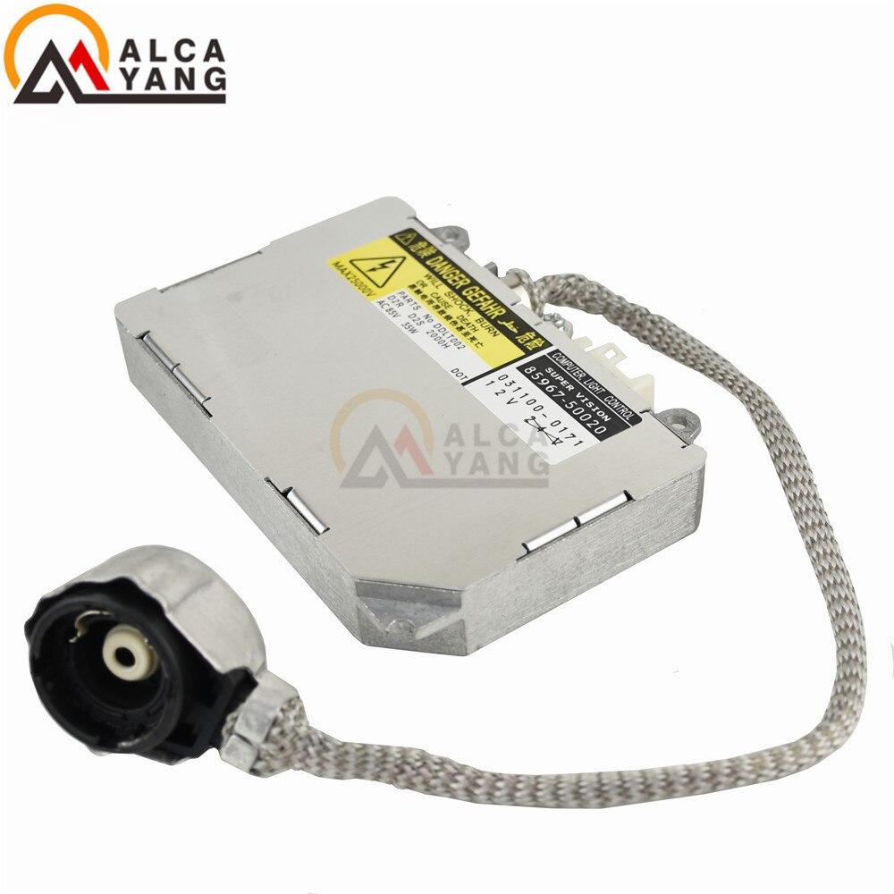 Блок управления балластом для фар Malcayang, 85967-50020, 84965-AE020, 84965-AG000, 84965-AG010