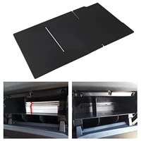 15 black 384mm glove box insert abs organizer partition for tacoma 2016 2021