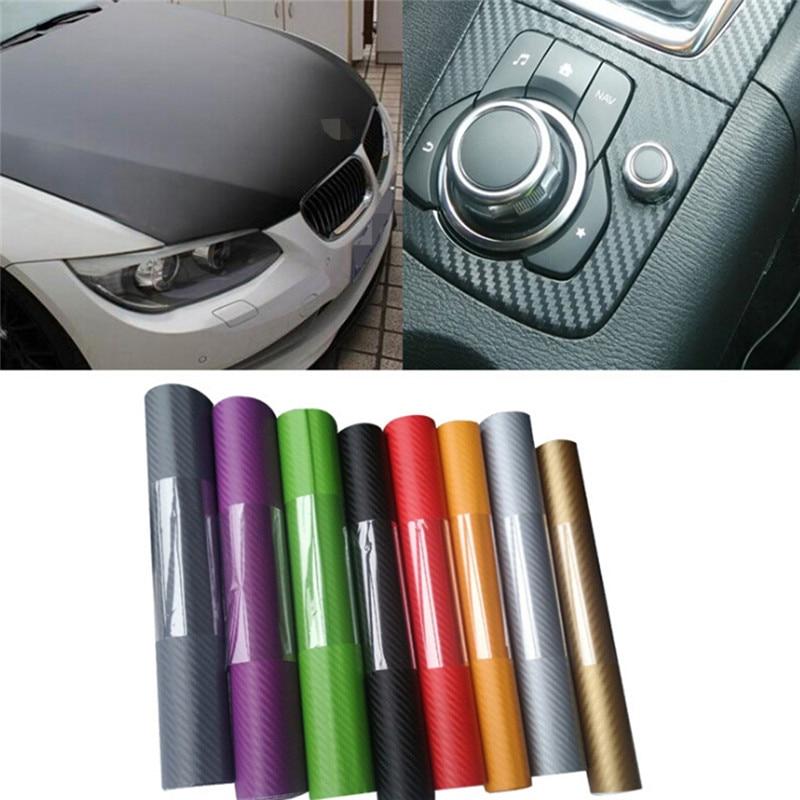DIY 5Colors Car Sticker Matte Pearl Point Auto Exterior Carbon Fiber Custom Sticker Automotive Accessories Change Film
