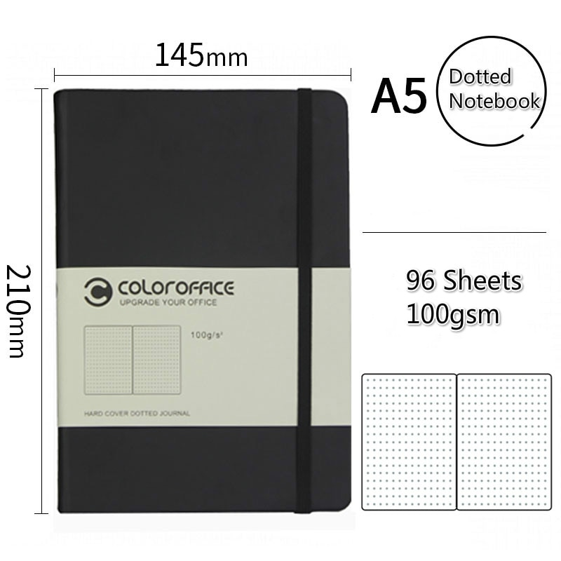 Bullet Notebook Journal A5 100GSM Thicken Paper Dot Grid Dotted Notebook