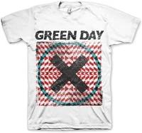 green day mens xllusion short sleeve t shirt