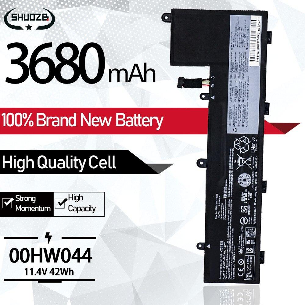 11.4V 3685mAh 42Wh جديد 00HW044 بطارية كمبيوتر محمول لينوفو ثينك باد اليوغا 11e 20GC 20GE 20LQ 00HW042 00HW043 SB10J78991 SB10J78990