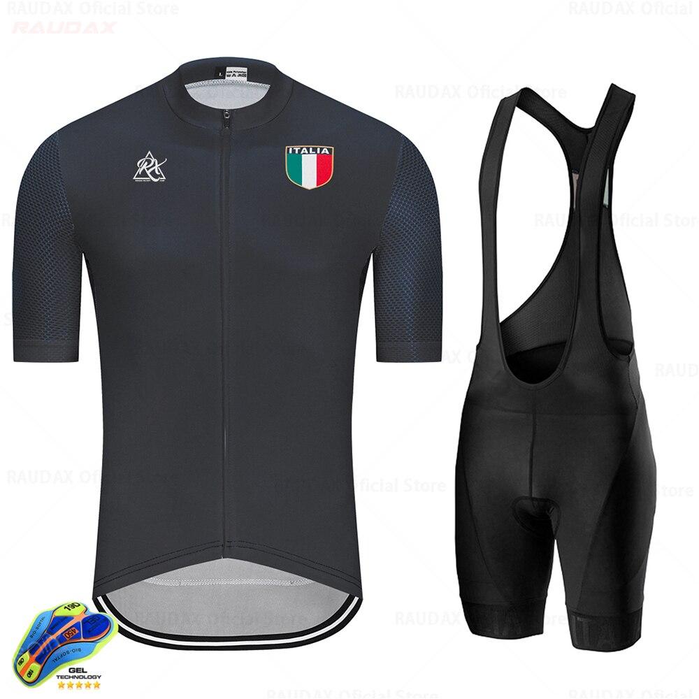 Conjunto De Jersey De Ciclismo para Hombre, ropa De manga corta, traje...