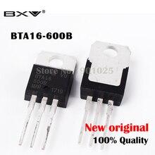 10 adet/grup BTA16-600B TO-220 BTA16-600 BTA16 triyak 16 Amp 600 Volt yeni ve orijinal