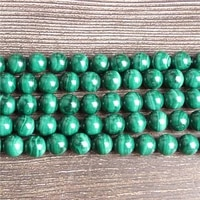lanli fashion natural jewelry authenticity green streaked malachite loose beads diy bracelet necklace accessories