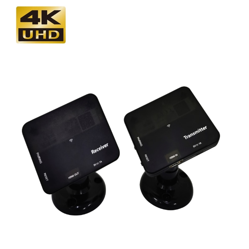 One pair 4K HDMI Wireless Extender HDMI Switch for Projector PS3 DVD Player PC Support 2 RX