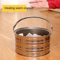 warm pot roasting stove charcoal grill stove household charcoal heating stove portable charcoal stove indoor charcoal stove