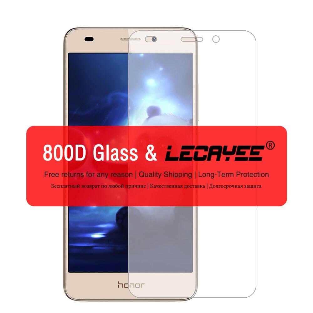 Vidrio Templado Ultra fino de alto grado para Huawei honor 5C honor 4C 4X 4A 6X7 HUAWEI 5A Protector de pantalla HD Vidrio a prueba de arañazos