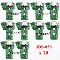 10 шт. JDS 050 040 030 011 USB-разъем для зарядки для Sony PlayStation 4 PS4 DS4 Pro Slim контроллер зарядное устройство печатная плата