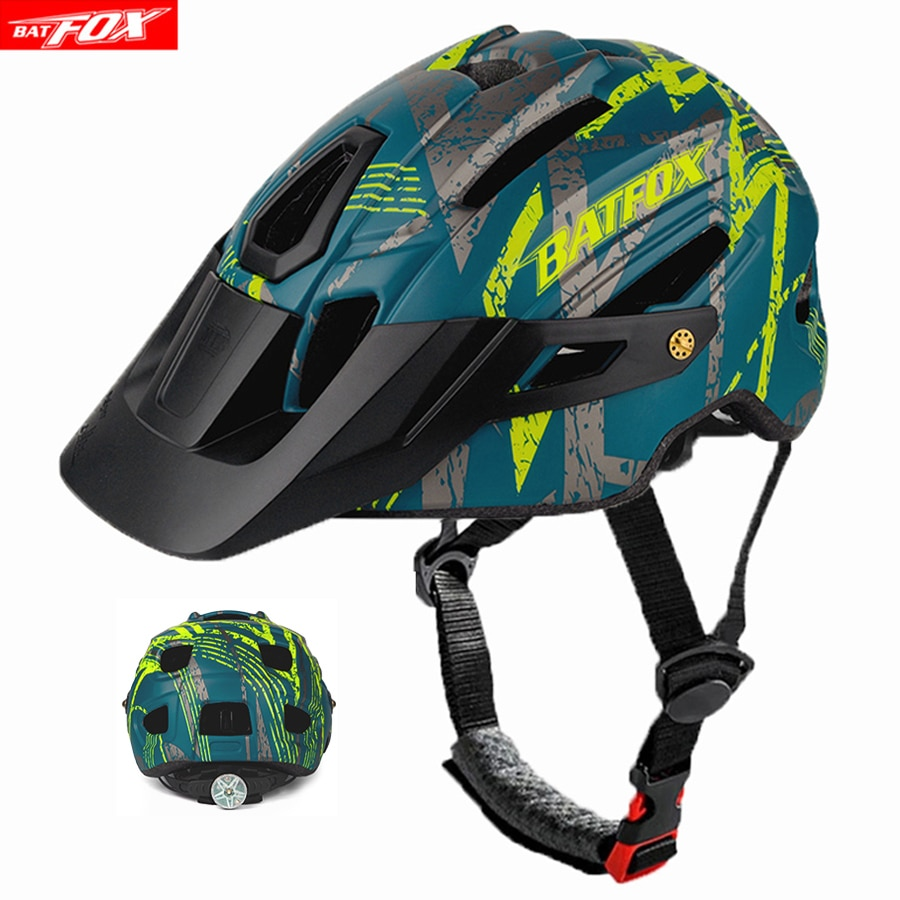 BATFOX-cascos de ciclismo ultraligeros para hombre, casco de Bicicleta de carretera de...
