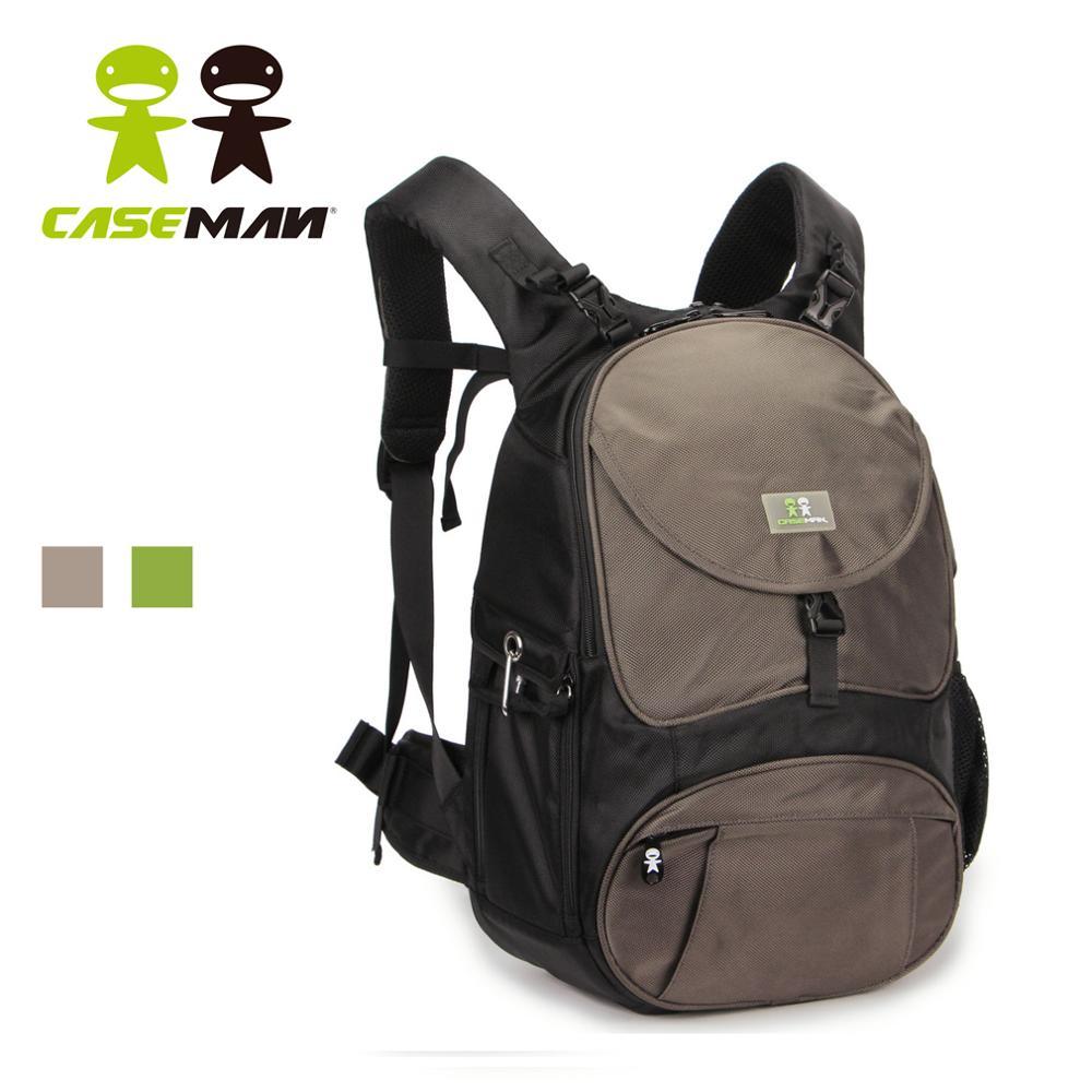 Caseman cp02 디지털 slr dslr 카메라 배낭 가방 케이스 노트북 삼각대 가방 캐논 eos 반란군 니콘 소니 pentax 대형 방수