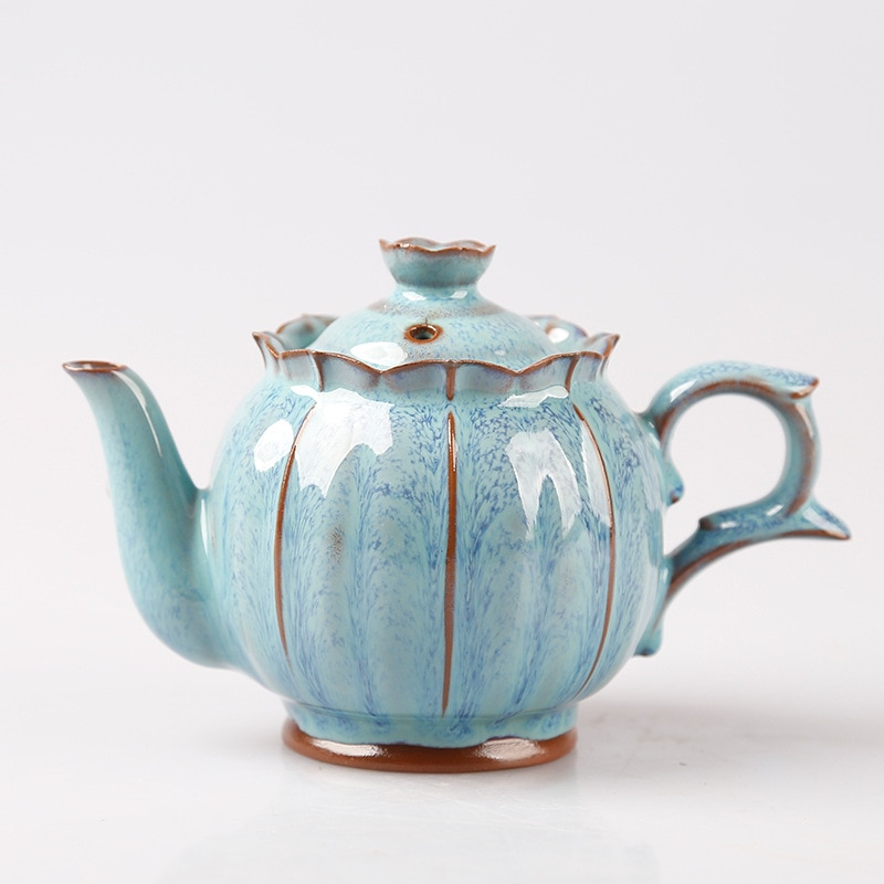 El horno tetera de porcelana de dan hu de Kung Fu té solo yao Variable dibujo pao cha hu casa pao cha hu