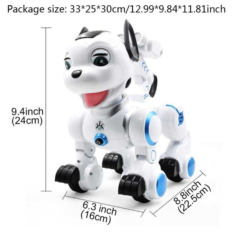 C5AF Remote Control Robotic Dog RC Interactive Intelligent Walking Dancing Programmable Robot Puppy Toys Electronic Pets enlarge