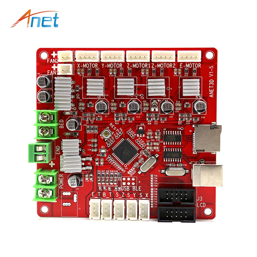 3dsway 3d printer motherboard lerdge k arm 32bit controller board with 3 5 touch screen diy parts wifi control mainboard New arrival Anet A3 A6 A8 3D Printer Part control board Motherboard Mainboard V1.5 Repra 3d printer Accessories for Wholesale
