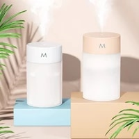 humidifier diffuser usb capacity small grain ultrasonic air mist maker with led night lamp mist maker quiet humidifier