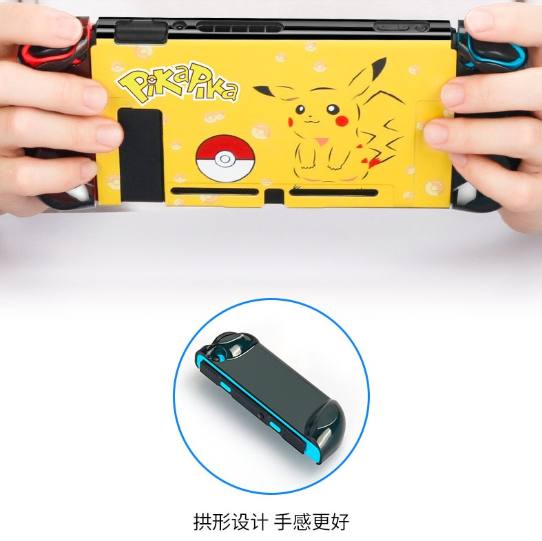 Купить с кэшбэком Yoteen Color Print Case For Nintendo Switch NS Pattern Case Protective Hard Cover Shell Skin For Nintendo Switch Console