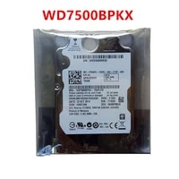 original new hdd for wd 750gb 2 5 sata 3 gbs 16mb 7200rpm 9 5mm for internal hard disk for notebook hdd for wd7500bpkx