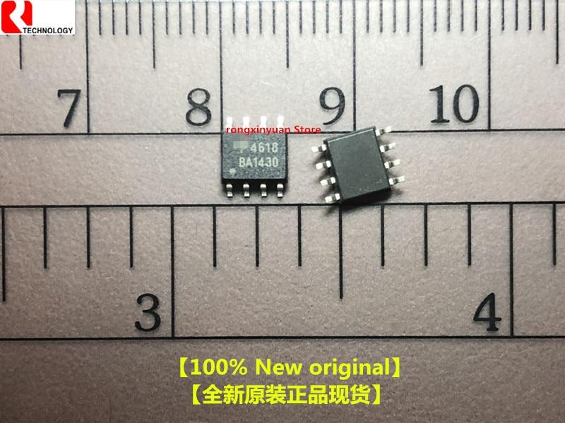 5 peças/lote ao4618 4618 sop-8 40 v complementar mosfet n-channel p-channel 100% novo original