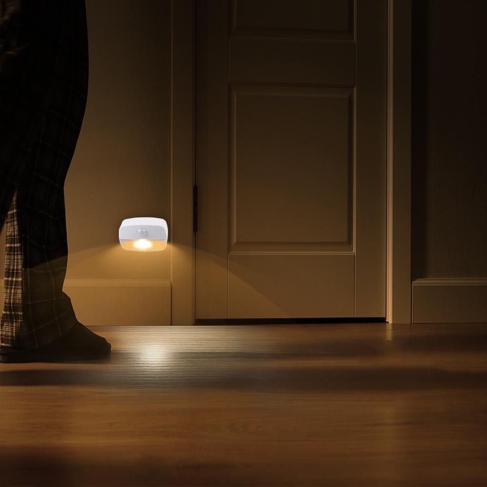 2021 New LED Motion Sensor Light Battery Operated Wireless Wall Lamp Night Light No Glare Corridor Closet LED Cabinet Door Light enlarge