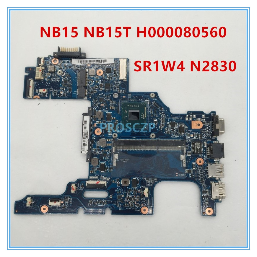 Alta qualidade para o Portátil Motherboard NB15 N2830 NB15t Intel Celeron CPU MA10 Motherboa pavilionrd H000080560 100% funcionando bem