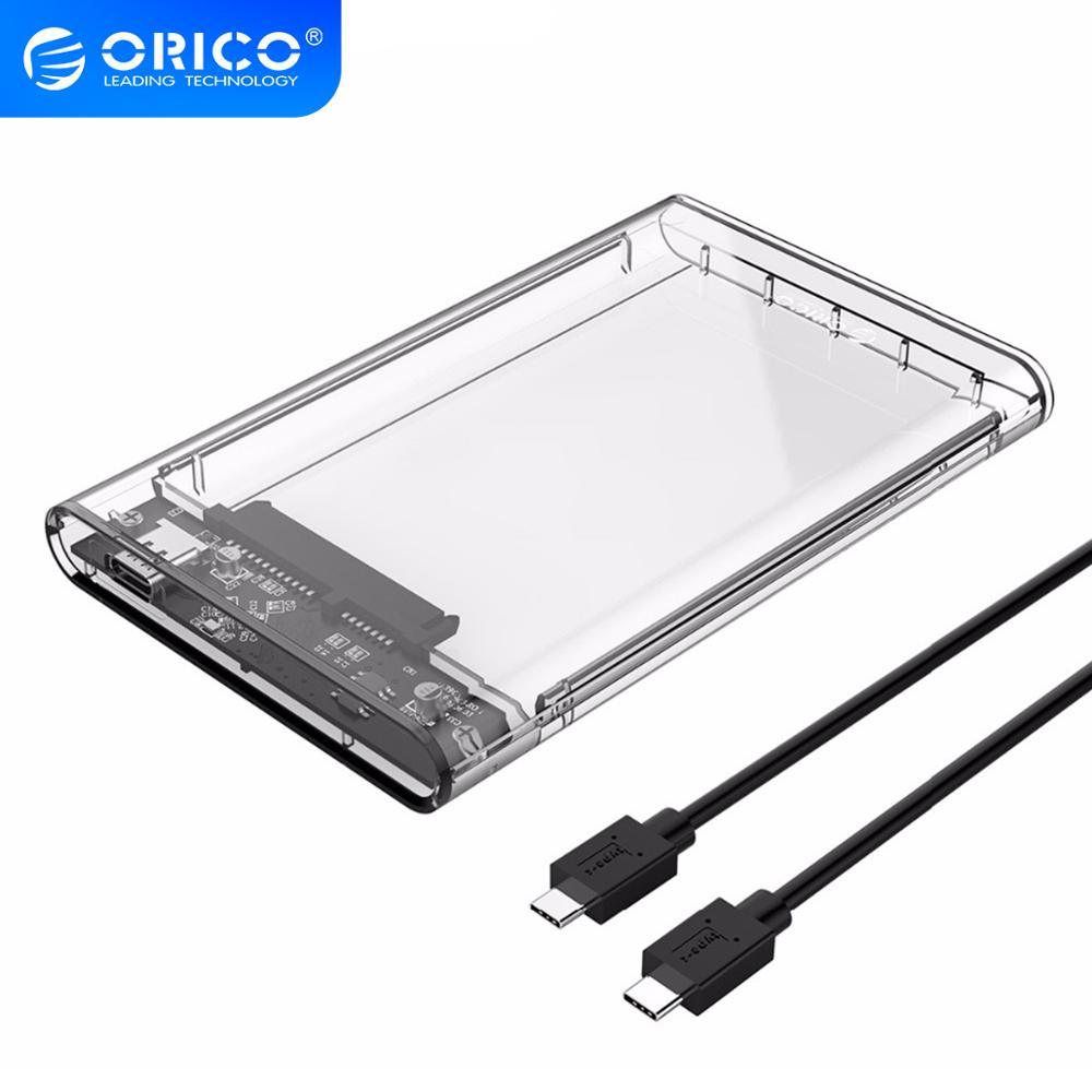 Чехол ORICO для жесткого диска 10 гбит/с USB 2 5 Gen2|Корпус диска| |