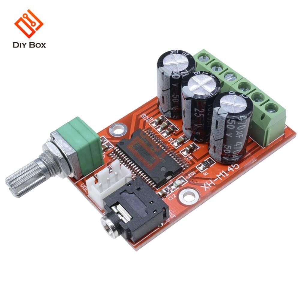 Tablero Amplificador YDA138E 12W + 12W ESTÉREO HIFI Amplificador de Audio Digital...
