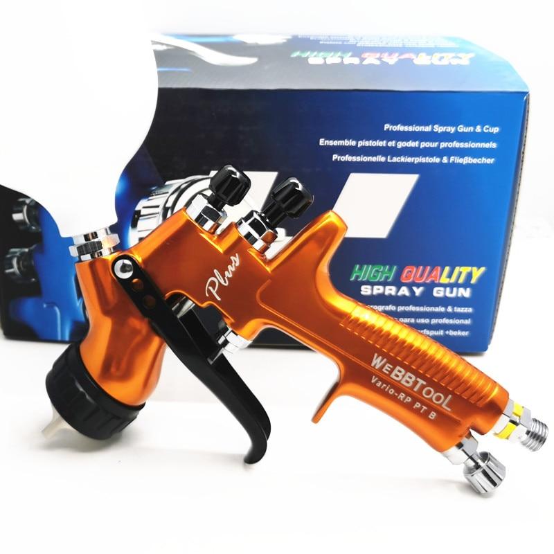 2020 new PGK PLUS RP high atomization spray gun High-end pro spray gun 1.3mm transparent coat varnish air paint sprayer
