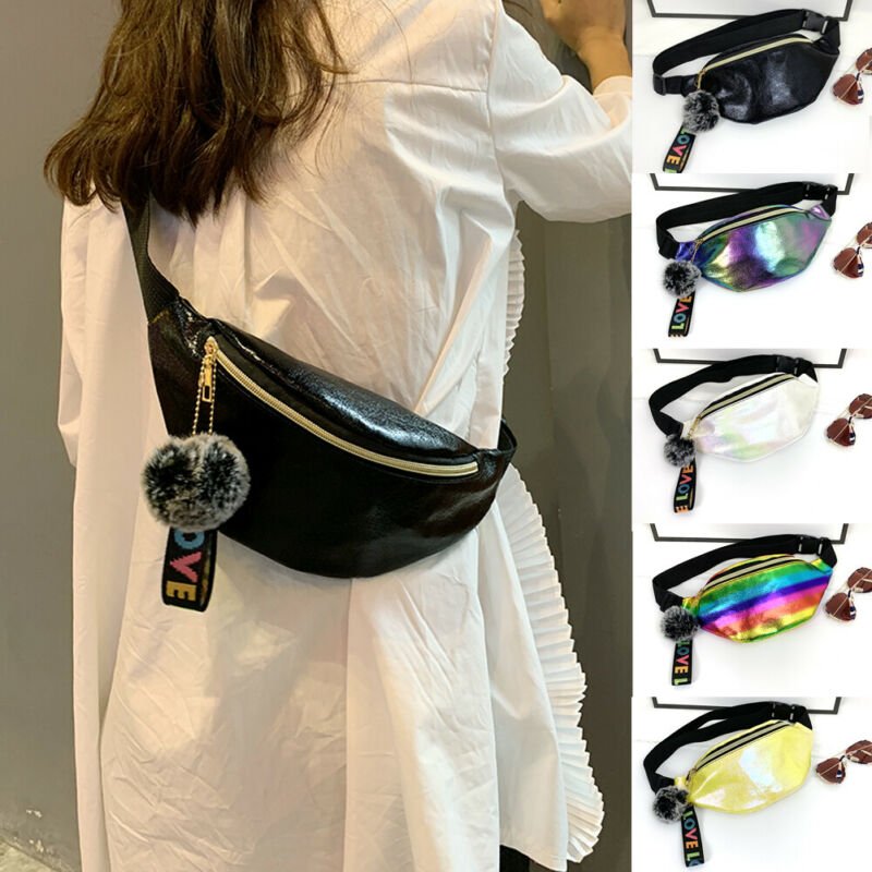 Women Girls Waterproof Crossbody Waist Bag Ladies Belt Bag Pack Fashion Travel Chest Bum Bag Travel